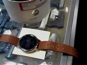 Motorola Moto 360 Gen 2 strainless w/ brown leather band